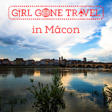 Girl gone travel in Mâcon